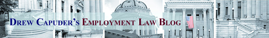 Drew Capuder's Employment Law Blog